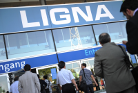 LIGNA готова к работе LIGNA ready for business